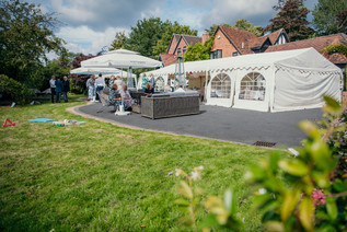 Wedding Photography Birmingham uK, marquee in the grounds for a wedding atthe elephant & castle rowington