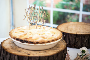 Wedding Photography Birmingham UK, apple pie wedding cake at the elephant & castle rowington
