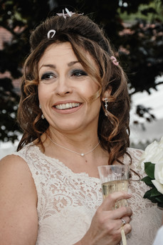 The Limes Wedding Photographer Solihull, Wedding Photographer Birmingham, close up portrait of the bride, relaxed, fun image