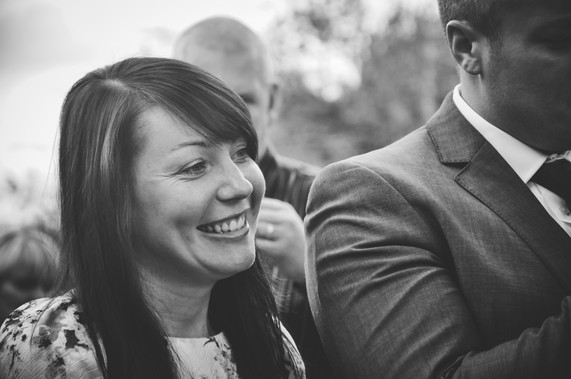 The Limes Wedding Photographer Solihull, Wedding Photographer Birmingham, wedding guests having a laugh, relaxed informal wedding Birmingham