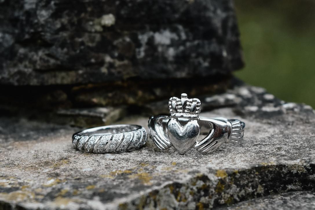 Wedding Photographer Birmingham, the wedding rings @woottonpark warwickshire