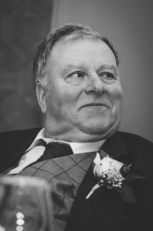 Wedding Photographer Solihull, father of the bride laughing during the speeches at the Westmead hotel Redditch