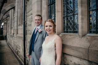 Wedding Photography Solihull, the bride & groom portraits session at the lord leycester Warwick