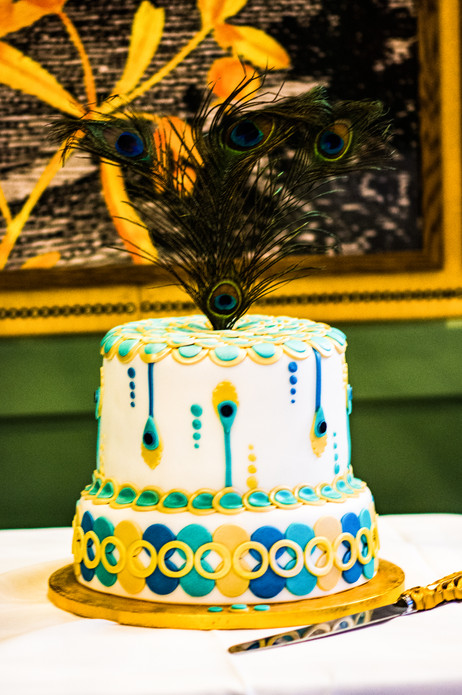The Ivy Birmingham, Civil Wedding Wedding Photographer Birmingham, lovely art deco cake at the ivy Birmingham