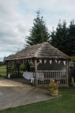 The Limes Solihull Wedding Photographer, Wedding Photographer Birmingham , the lodge at The Limes wedding venue, outdoor ceremony, bunting