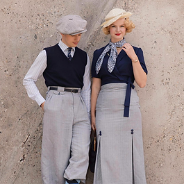 1930s Mens Womens Fashion
