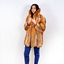 Fox Fur Furrier Jacket