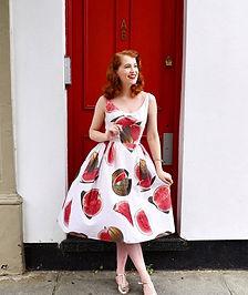 Vintage-watermelon-dress