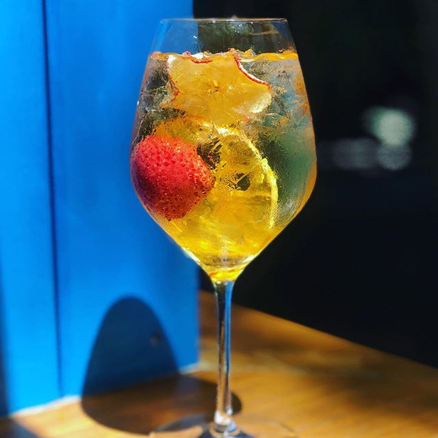 Saturdays and Sangria, what could be better?