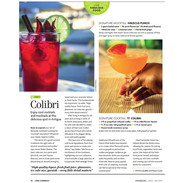 Our Cocktails Featured in ZiNG Magazine
