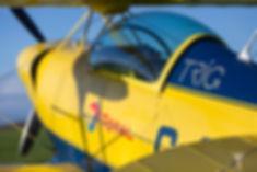 Aerobatic experience flight