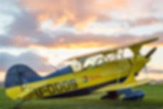Aerobatic experience flight pitts