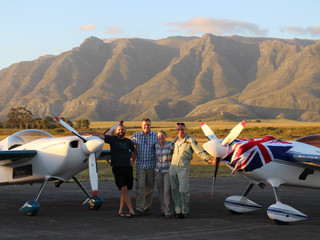 Training over - we're heading to the competition in Mossel Bay!