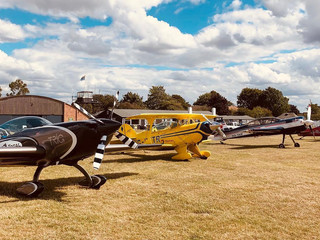 Busy day at Ultimate Aerobatics