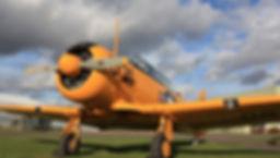 T6 Harvard flights london