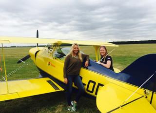 Aerobatics with Carol