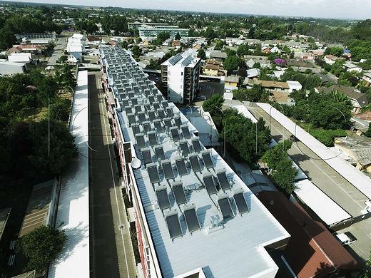 Schleyer Chillan  - Panel solar termosifon energia solar agua caliente colector solar termica