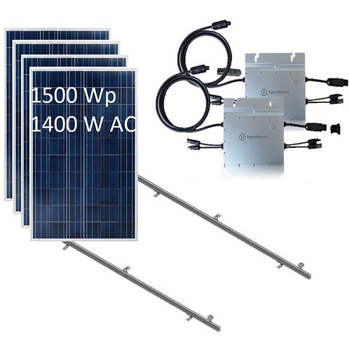 Kit Fotovoltaico On Grid 1500 Watts Chile