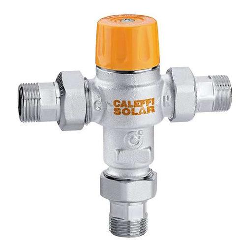 valvula mezcladora solar caleffi termic