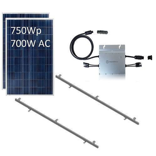 Kit Fotovoltaico On Grid 750W Chile