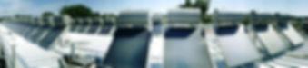 Termic Panel solar termosifon energia solar agua caliente colector solar termica