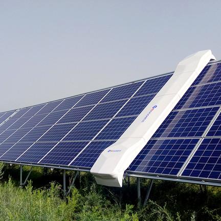 sistema de limpieza de modulos fotovoltaicos