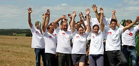journée cohésion, team-building, incentive pour entreprises - Survol du Perche en avion ULM
