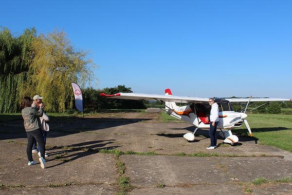 Survol du Perche : Baptême de l'air avion ULM à Bellême dans l'Orne,Parc du Perche en Normandie
