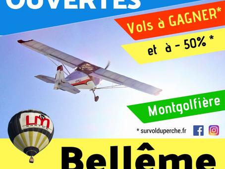 Journées portes ouvertes : samedi 14-15 juillet 2018 Aérodrome de Bellême-St Germain-de-la Coudre