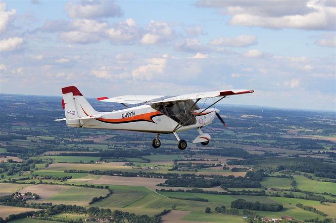 Avion ULM Nynja - baptêmes de l'air - Survol du Perche .fr