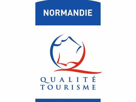 """24 septembre : Remise du label """"Normandie Qualité Tourisme"""""""