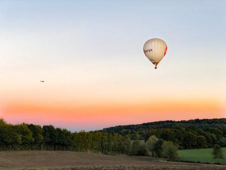 les vols en montgolfière sont suspendus pour l'hiver