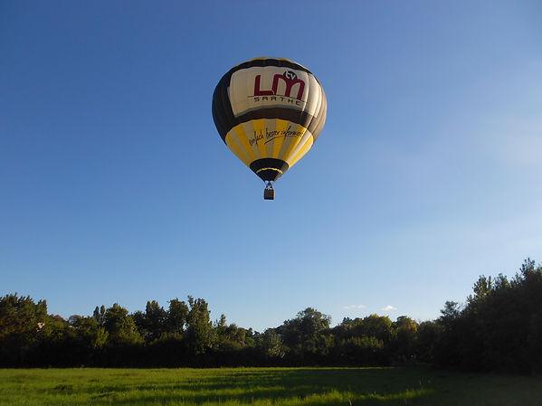 vol en montgolfière avec Survol du Perche dans l'Orne en Normandie