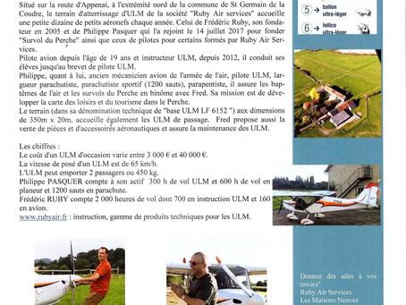 Bulletin municipal N°39 de St Germain-de-la-Coudre 25 Juin 2018