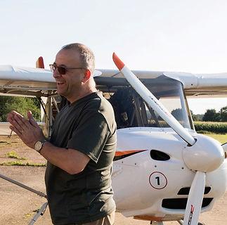 Balade en avion ULM Bellême Orne Perche Normandie