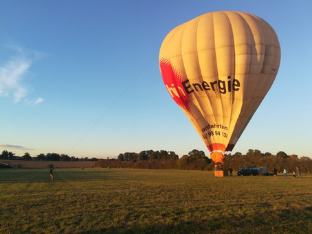 Photos du vol en montgolfière du 03 novembre 2018