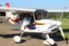 instruction au pilotage avion ulm nynja survol du perche