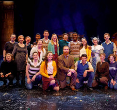 The cast and crew of The Lion, the Witch, and the Wardrobe.