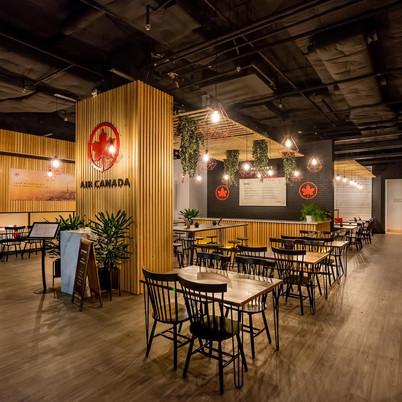 Air Canada Pop-up Cafe