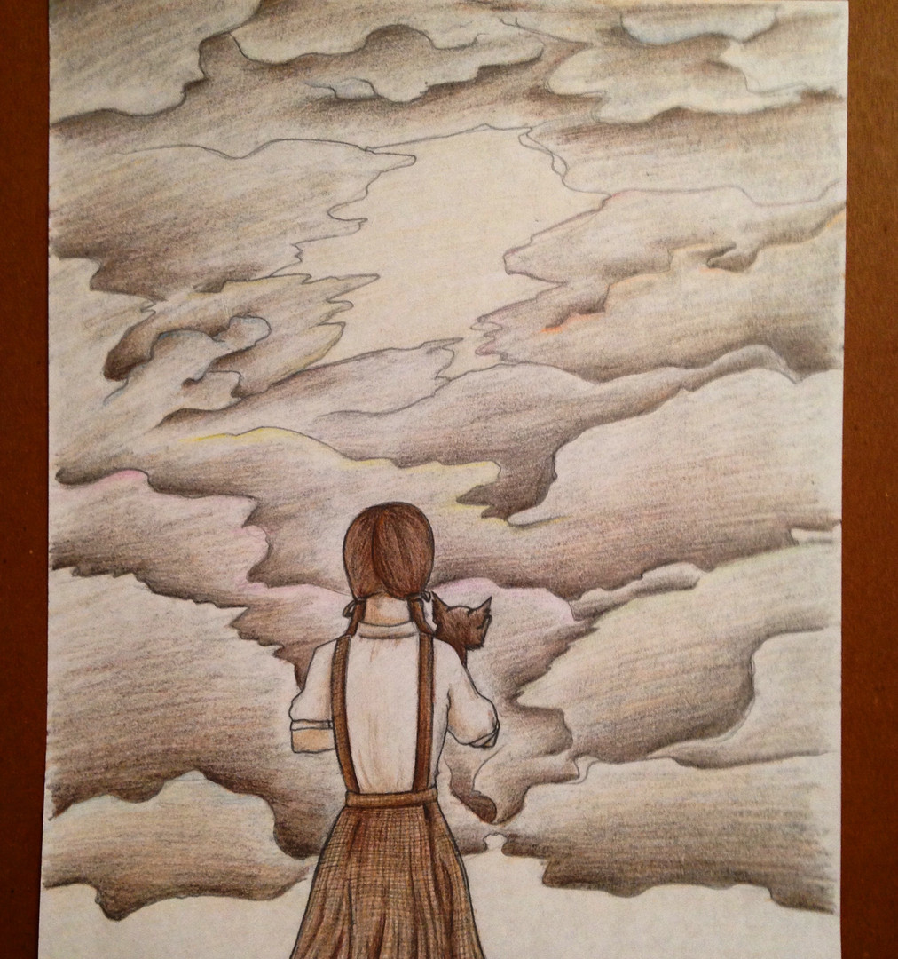 Why Oh Why Can't I? - Colored Pencil