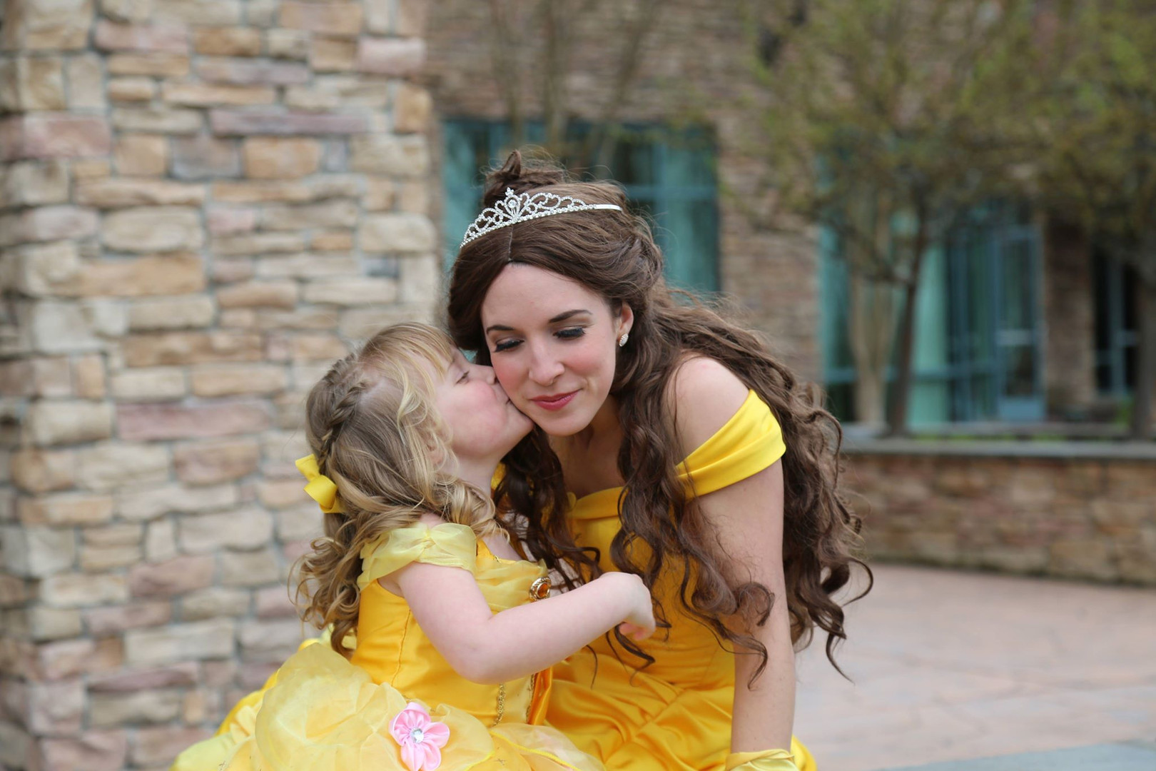 Belle and mini me