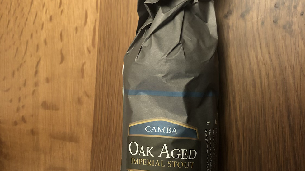 Camba Oak aged Imperial Stout Rum