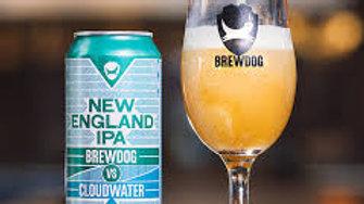 BrewDog NEIPA vs. Cloudwater