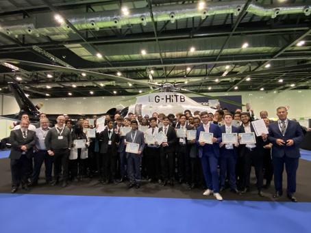 IASTI® London City Certification Ceremony at Helitech Expo 2021