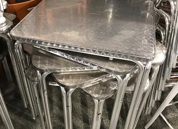 Mesa terraza metal