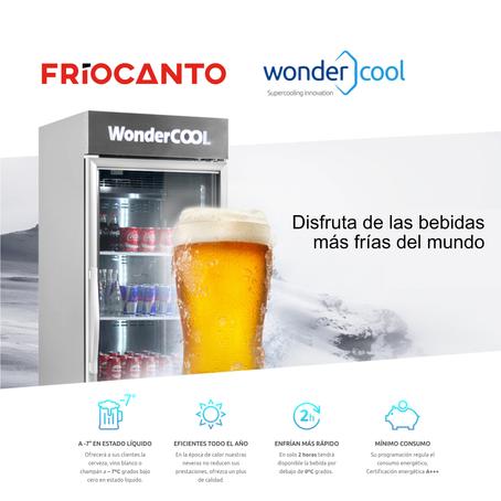 Wondercool te ofrece las bebidas más frías del mundo