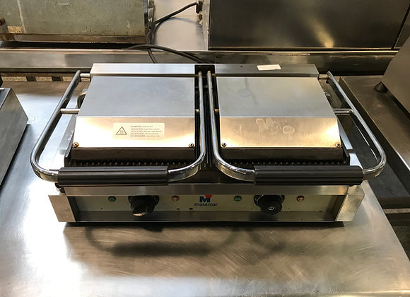 Plancha grill doble Masamar