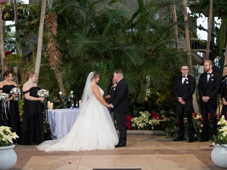 Mary + Brad // New Year's Eve Wedding