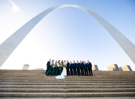 Brenna + Zack // Chic Emerald Green and Gold Wedding Day