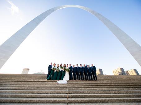 Brenna + Zack // Chic Emerald Green and Gold Wedding Day